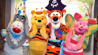 pooh and friends halloween