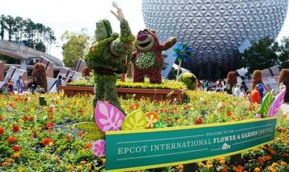 2011 Epcot International Flower & Garden Festival.